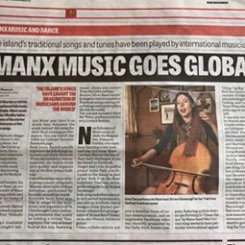 Manx Independent Newspaper mention!